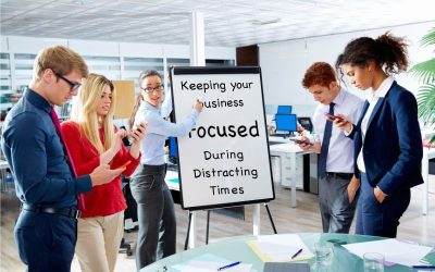 Keeping Your Charlotte Business Focused During Distracting Times